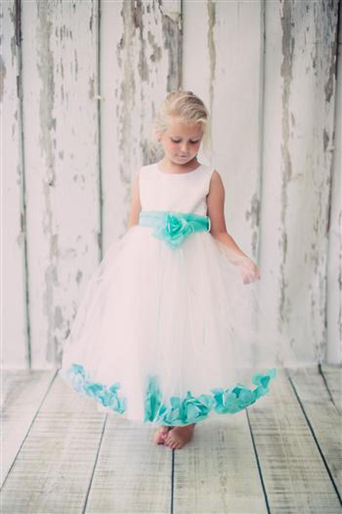 Flower girl dress by kids dream blossoms bridal formal dress store 160 sash kids dream flower girl mightylinksfo