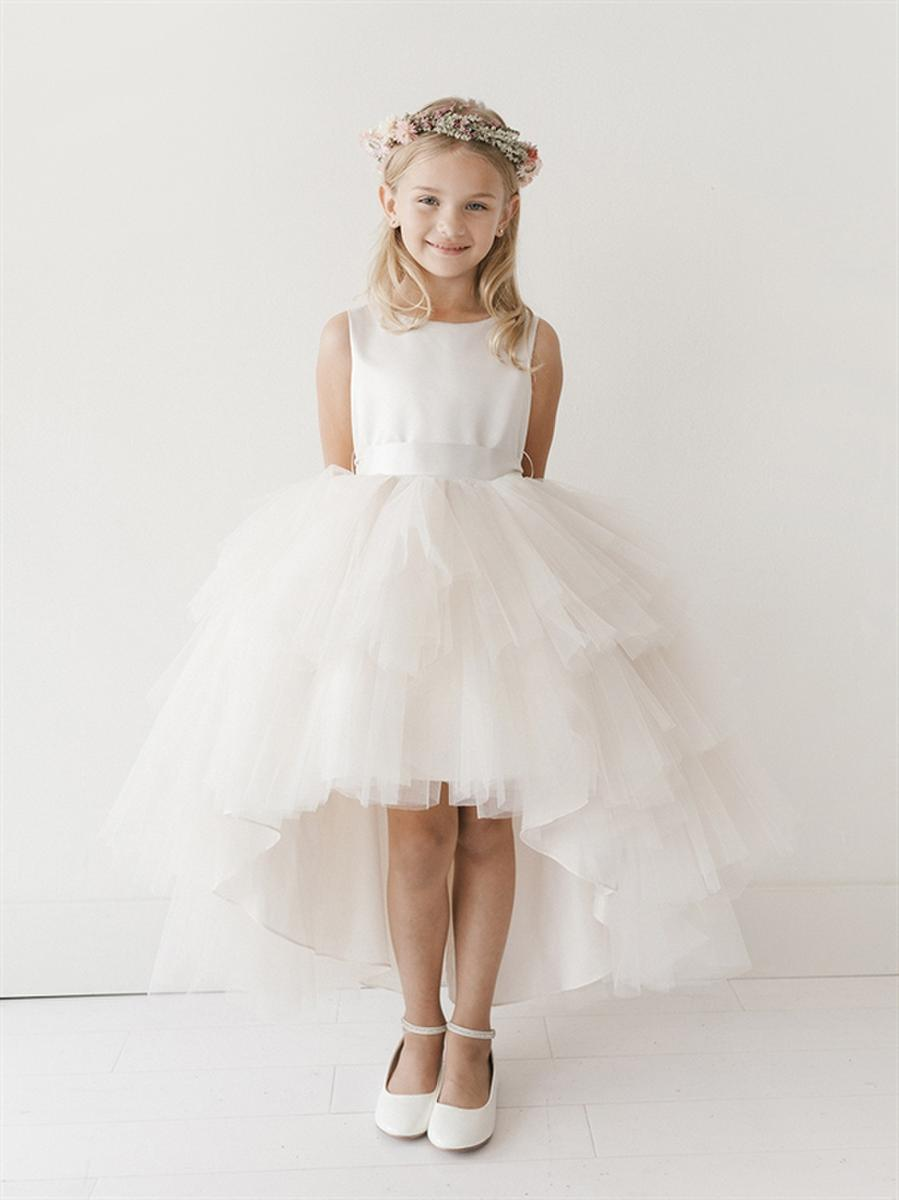 Flower girl dress by tip top blossoms bridal formal dress store tip top flower girl mightylinksfo