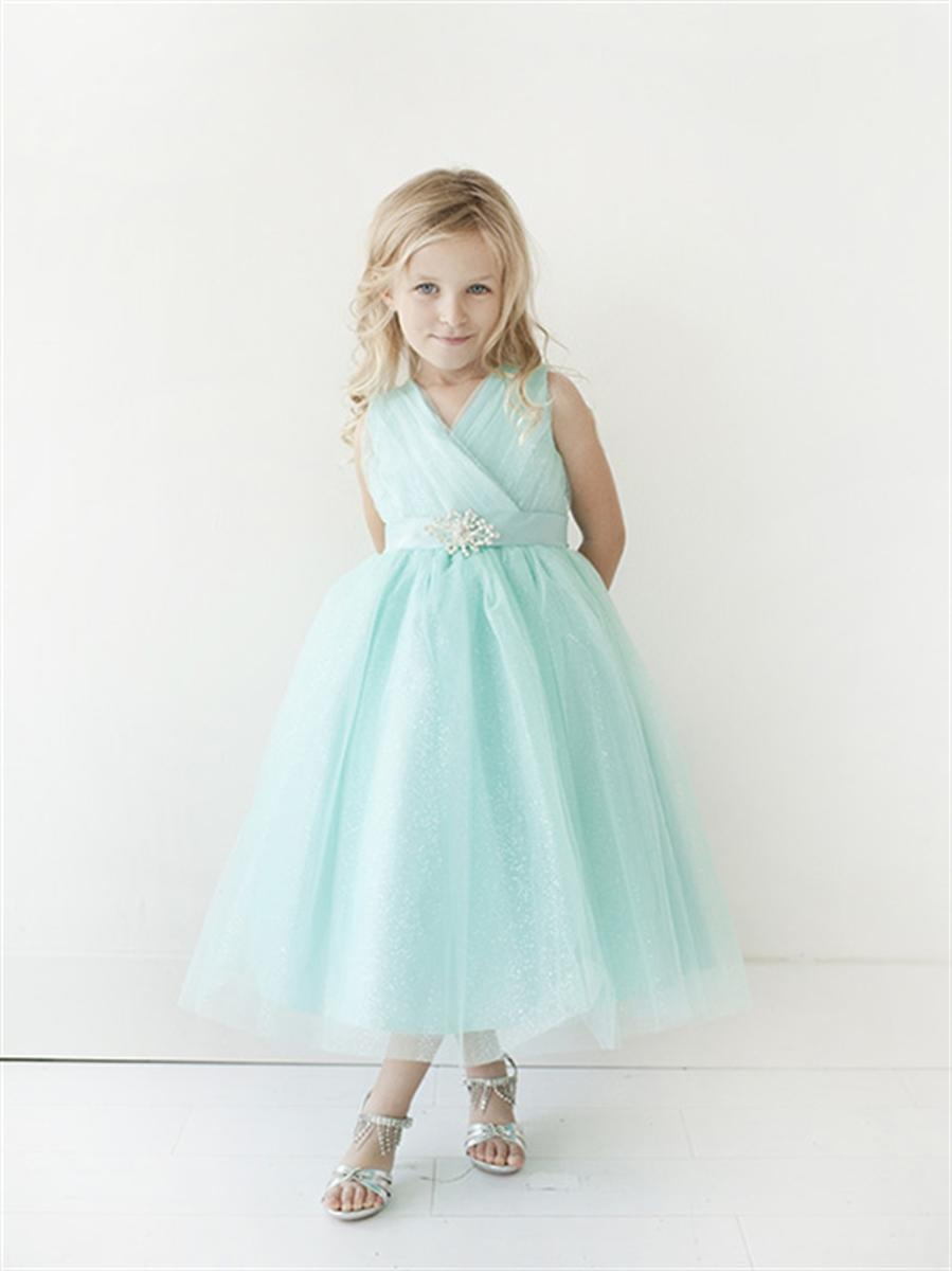 Flower Girl Dress by Tip-Top Blossoms Bridal & Formal Dress Store