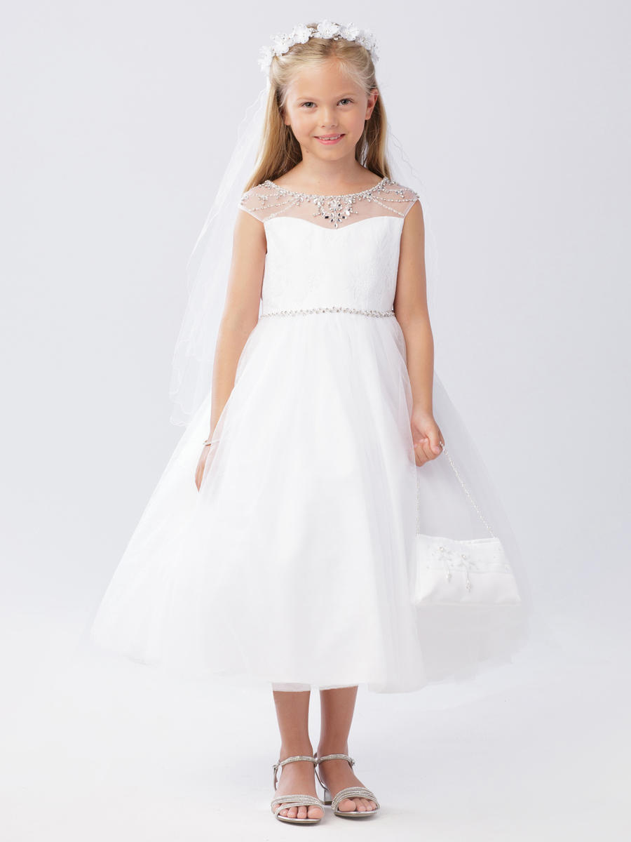 Tip top Flower Girl Dress. 5746
