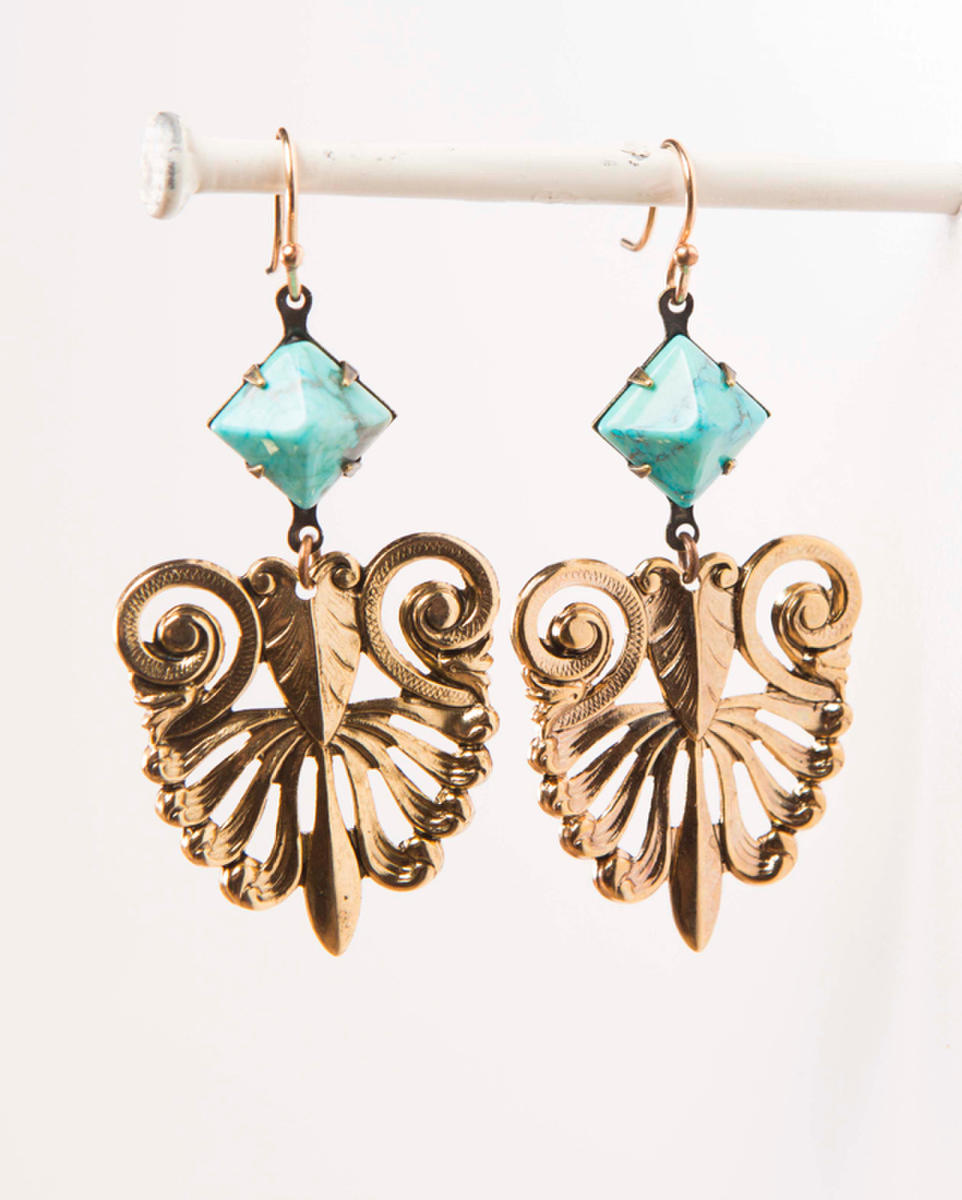 MARK EDGE E-1827 EARRINGS