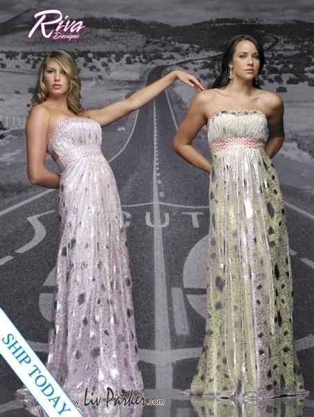 Riva Designs Prom Dress 7451