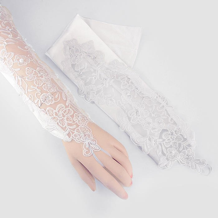 Bridal Wedding Gloves