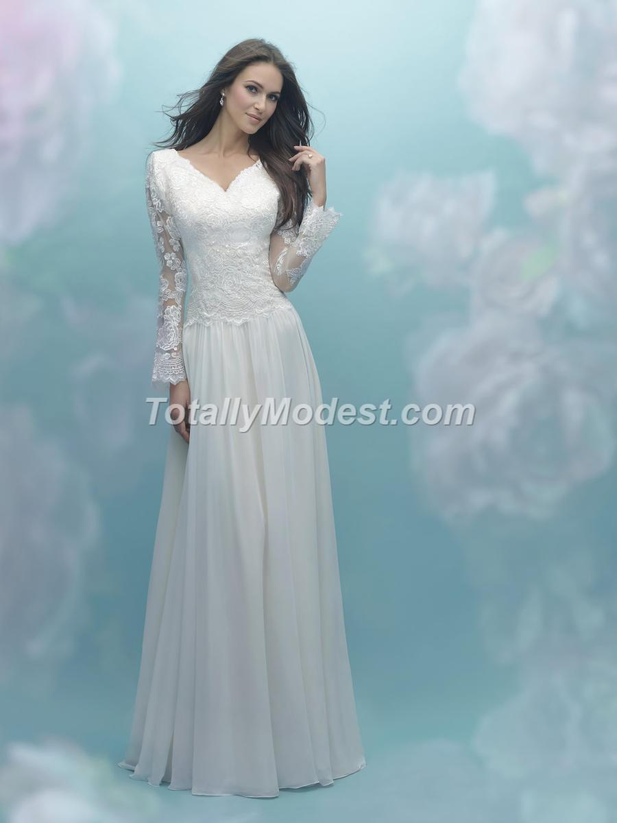 Modest 3/4 & long Sleeves Totally Modest WEDDING dresses, BRIDESMAID ...