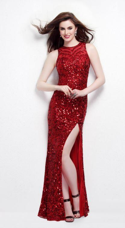 Primavera Fully Sequined Gown
