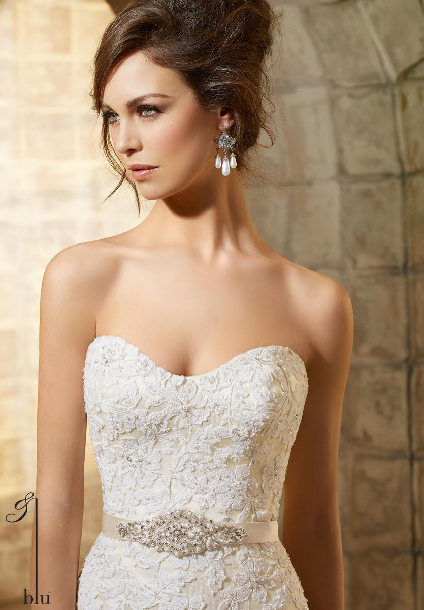 Beaded Bridal Belt by: Mori Lee