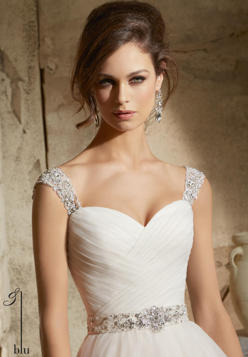 Beaded Sleeves By: Mori Lee