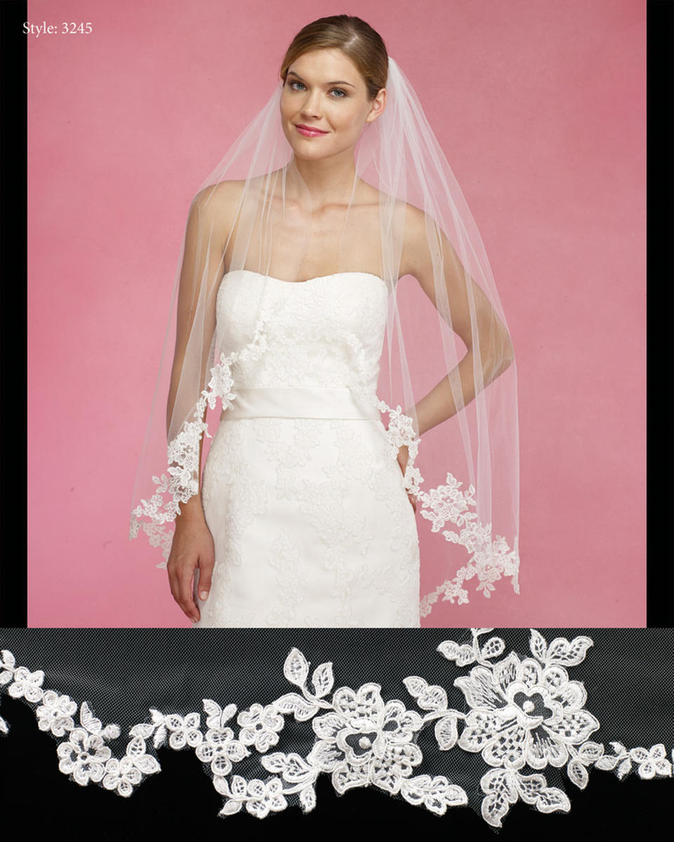 THE BRIDAL VEIL CO - 72x108-Top 19 Plain cathedral