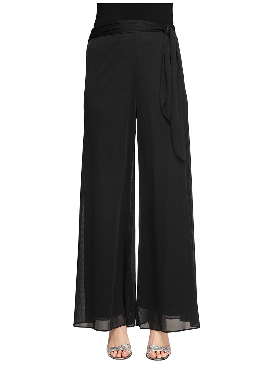 ALEX APPAREL GROUP INC - Petite Sash-Belt Wide-Leg Pant 232071