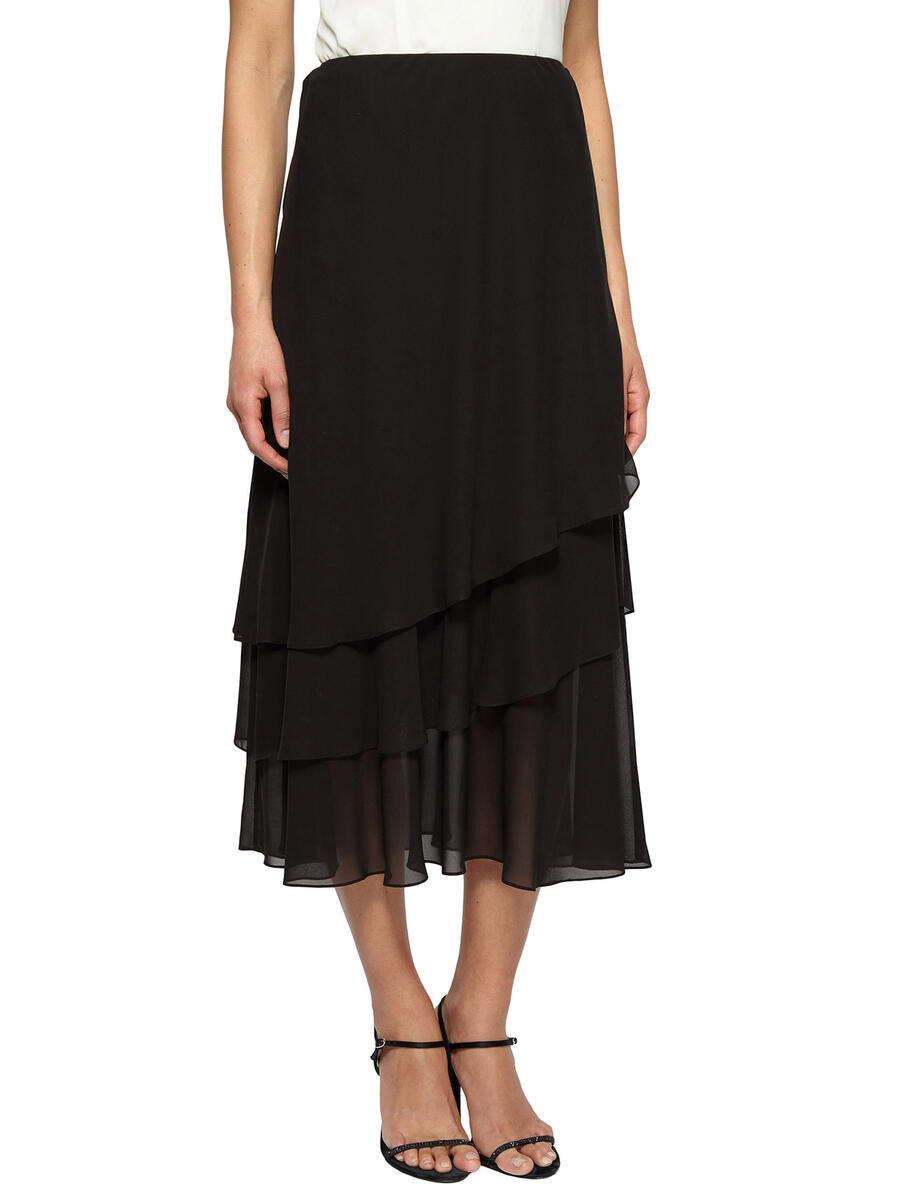 ALEX APPAREL GROUP INC - Chiffon Long Skirt