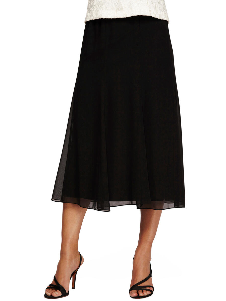 ALEX APPAREL GROUP INC - Chiffon Skirt