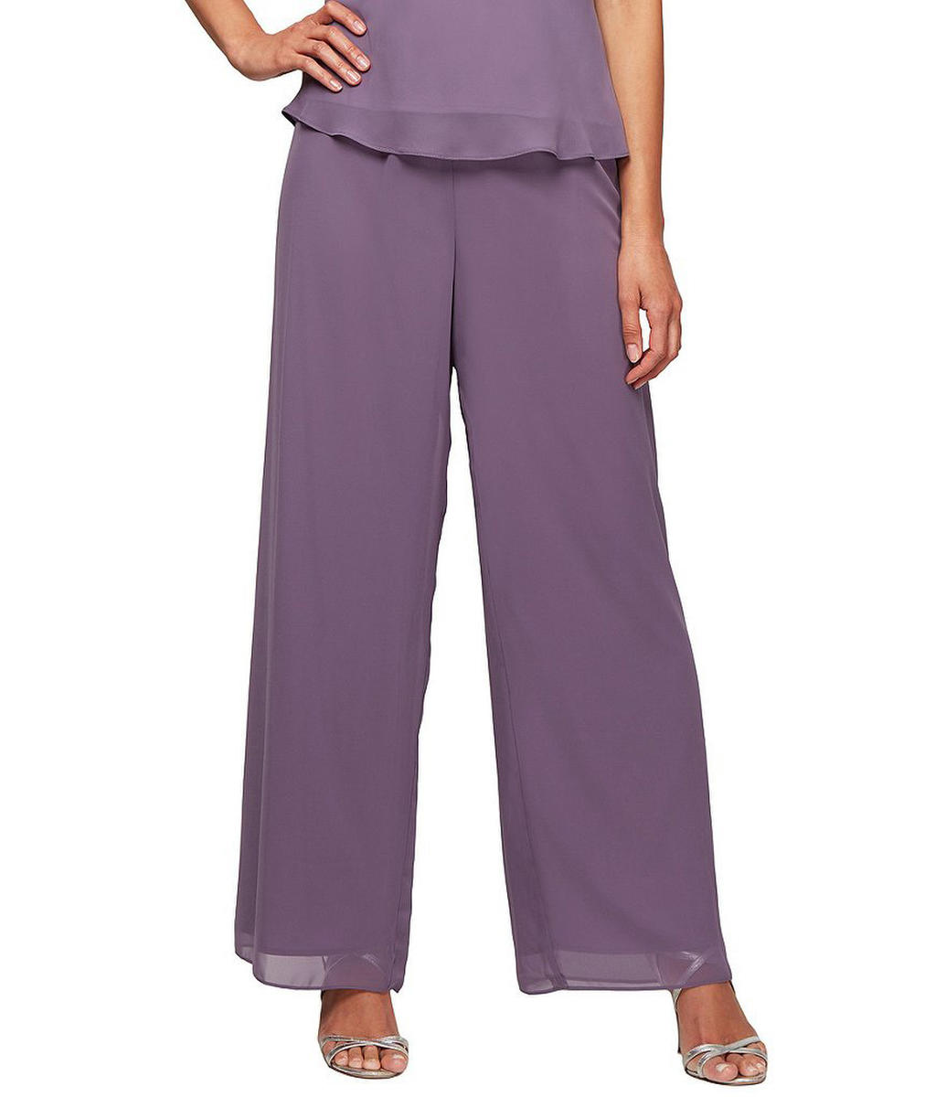 ALEX APPAREL GROUP INC - Chiffon Pants