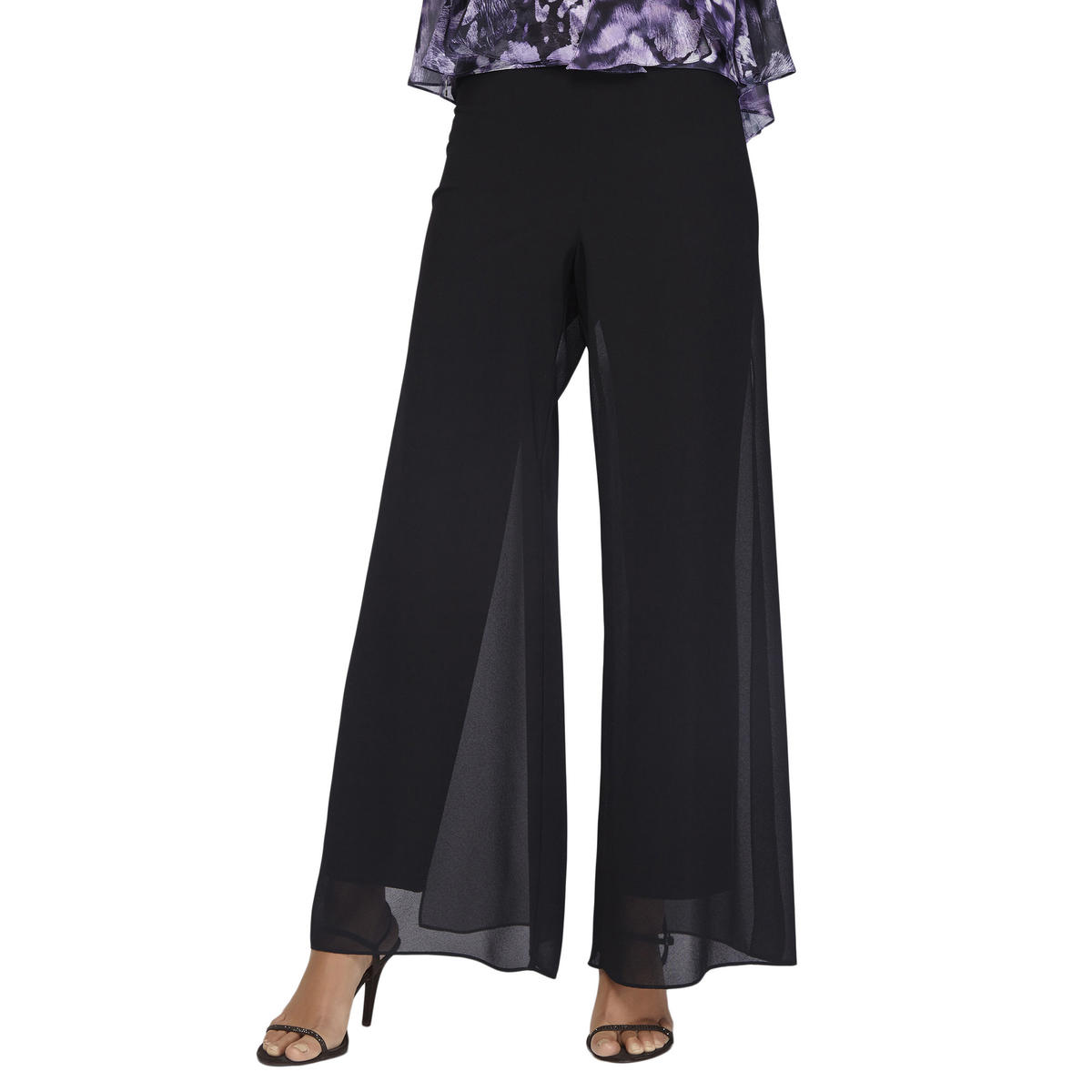 ALEX APPAREL GROUP INC - Chiffon Flyaway Pant