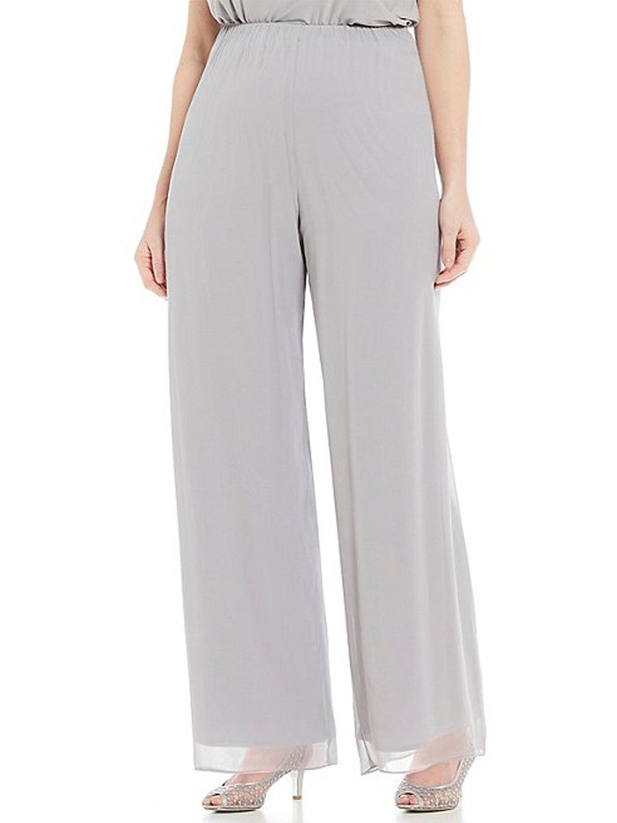 ALEX APPAREL GROUP INC - Chiffon Palazzo Pant