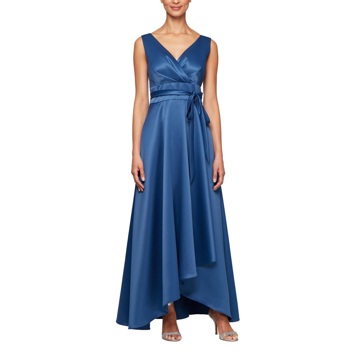ALEX APPAREL GROUP INC - Long Sleeveless Ball Gown