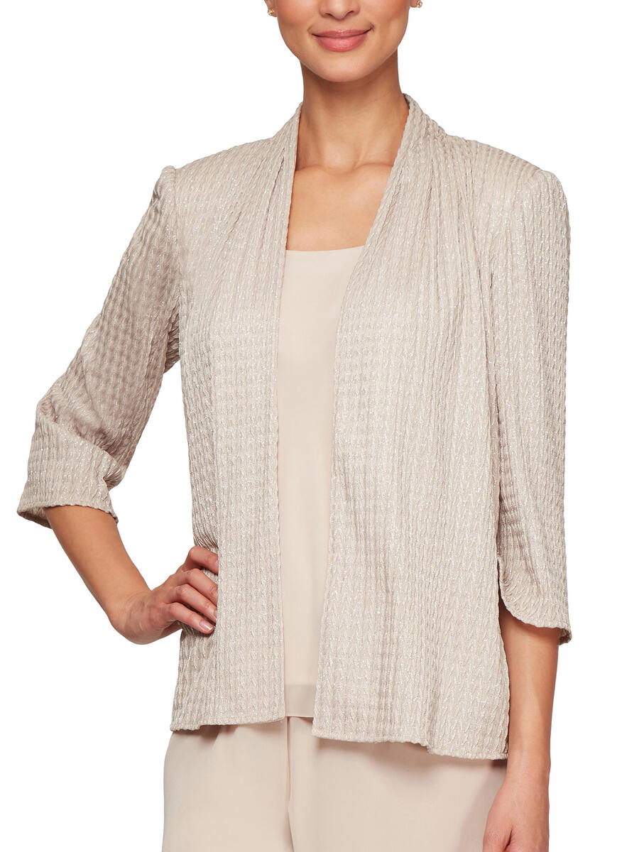ALEX APPAREL GROUP INC - 2 Piece Bead Jacket/Camisole