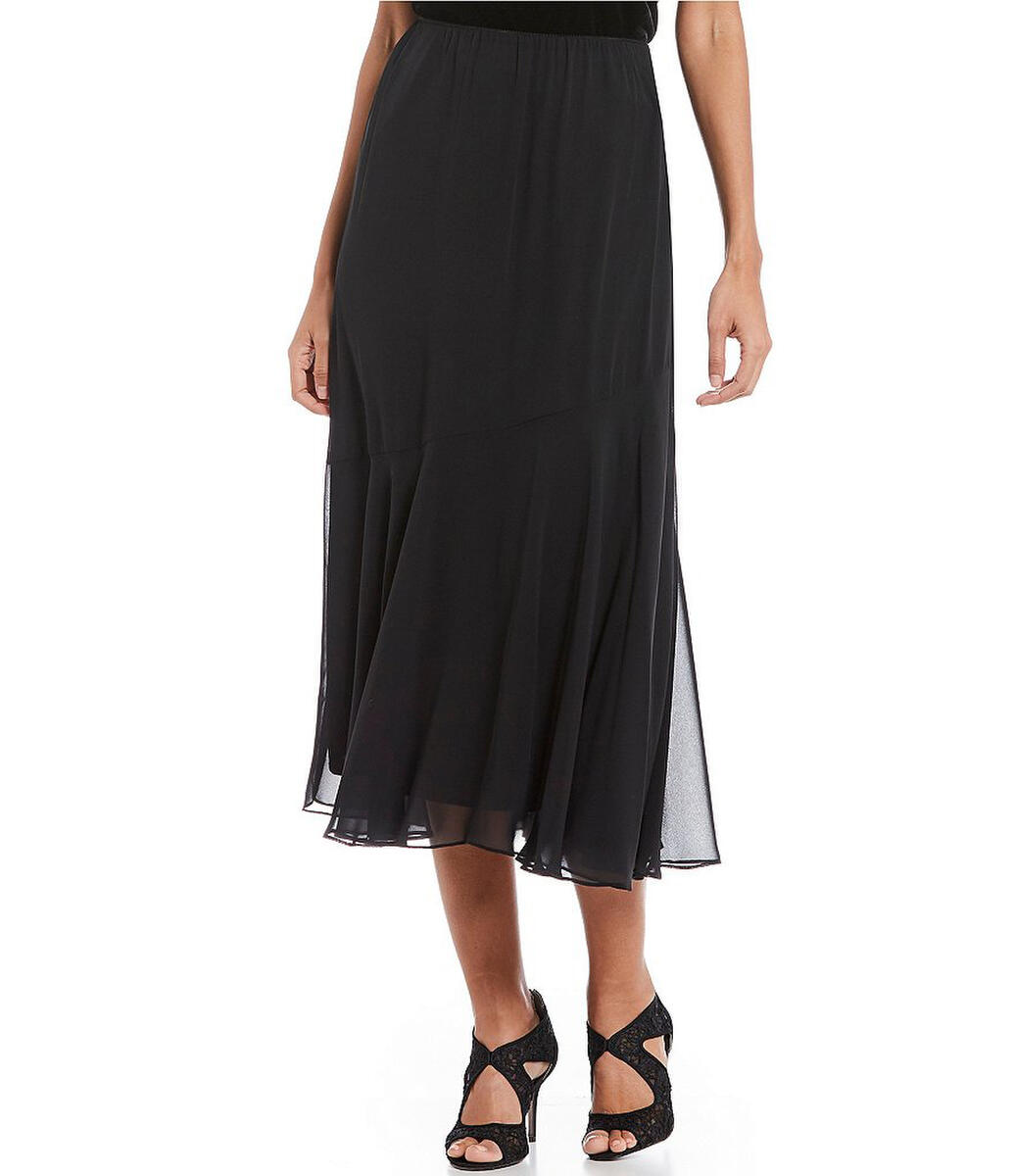 ALEX APPAREL GROUP INC - Long Chiffon Skirt