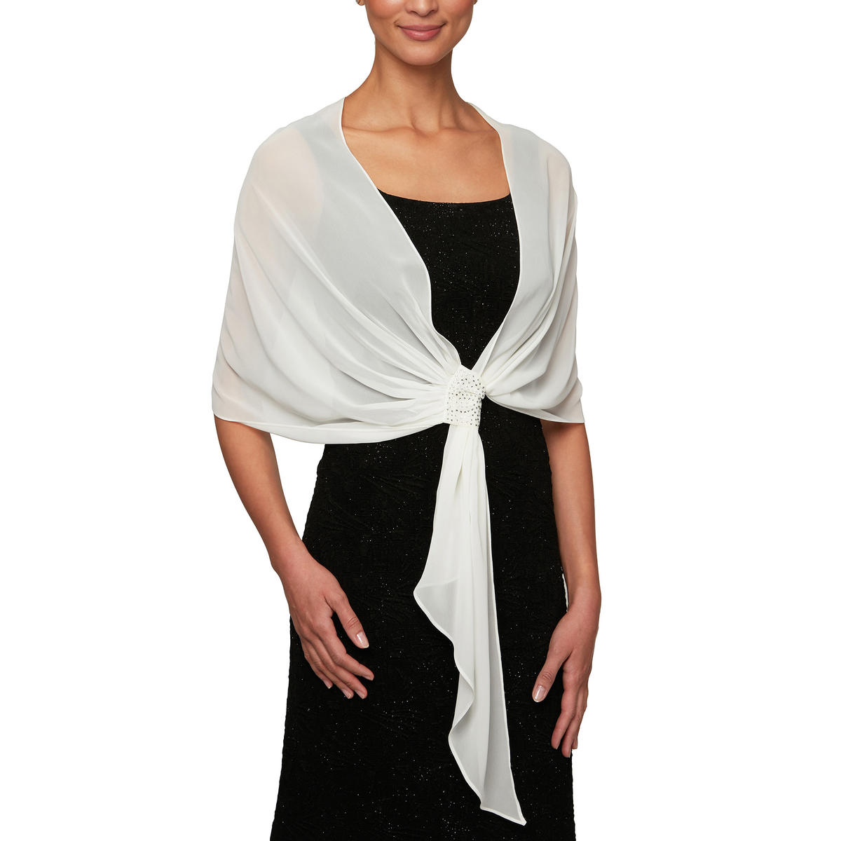 ALEX APPAREL GROUP INC - Pull Through Shawl