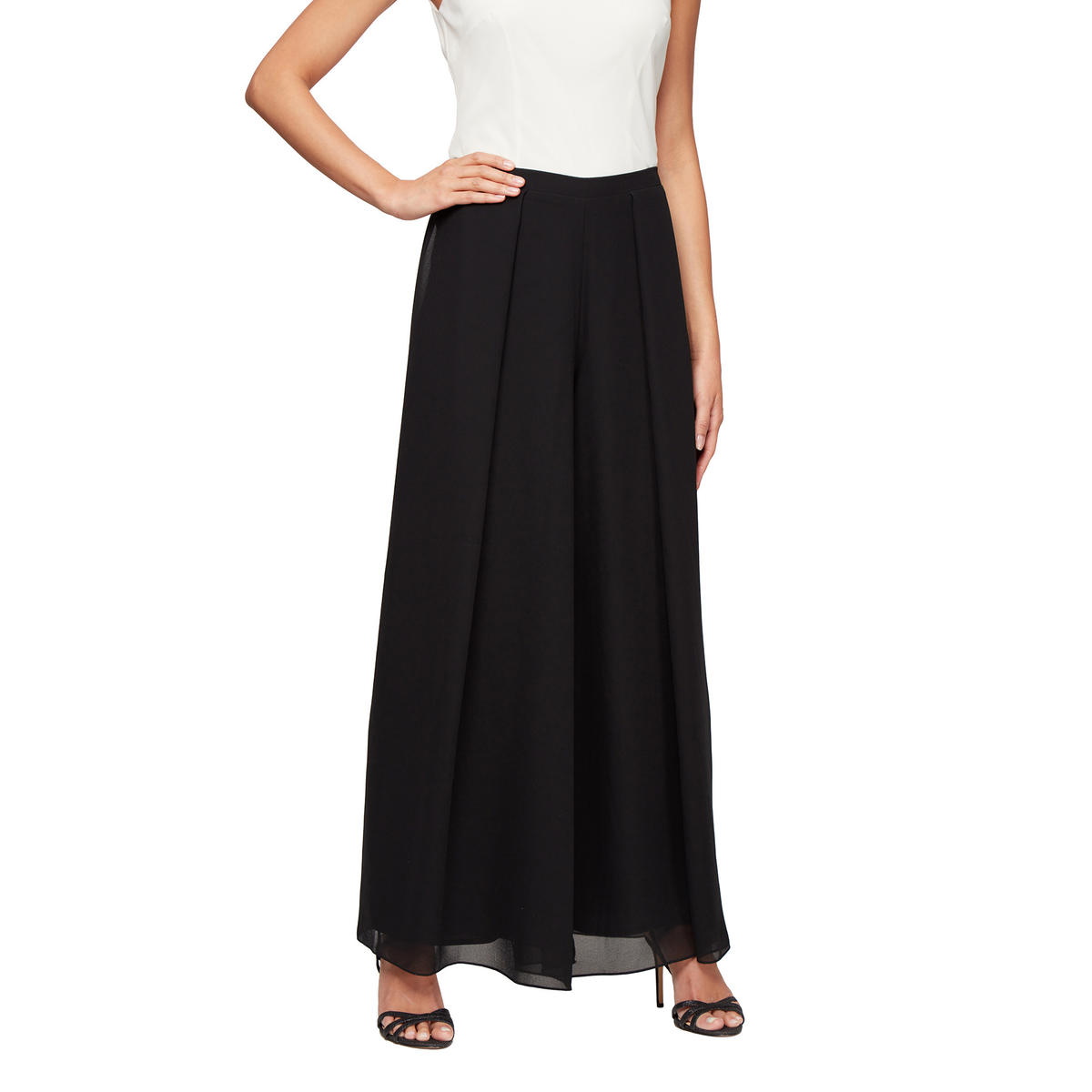 ALEX APPAREL GROUP INC - Chiffon Palazzo Pants