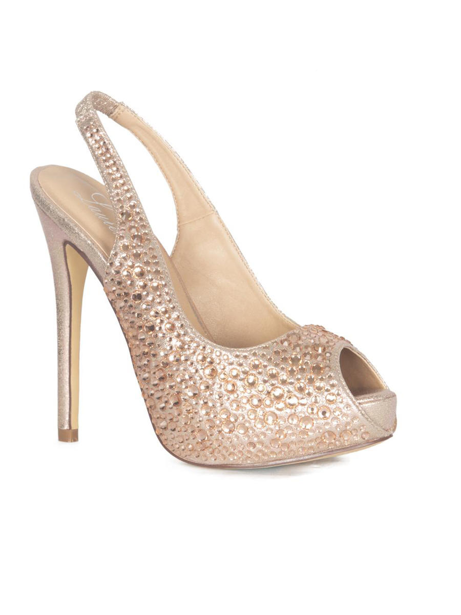 A&L FOOTWEAR - High Heel Sling Back Rhinestone