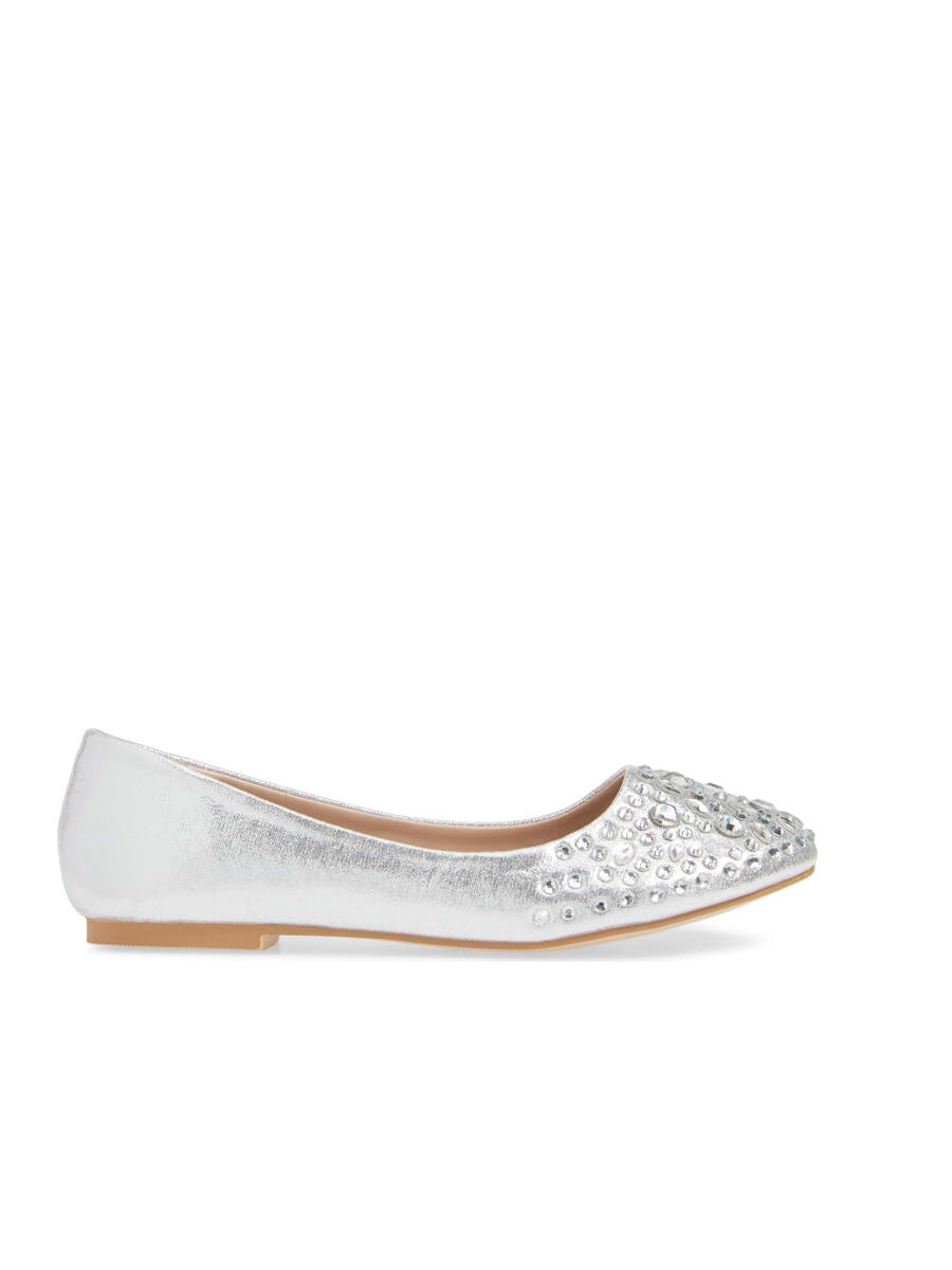 A&L FOOTWEAR - Shinny Metallic Ballerina