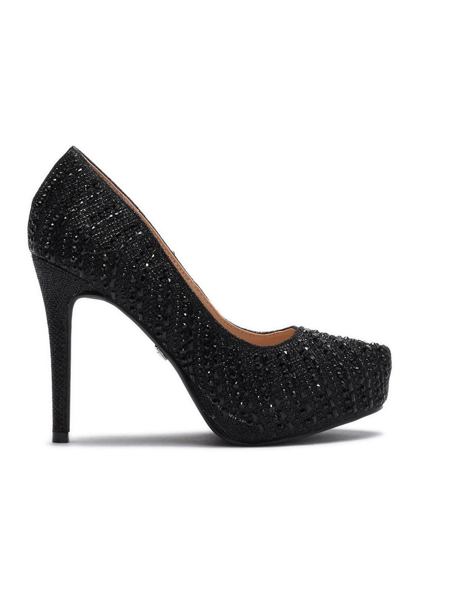 A&L FOOTWEAR - High Heel Rhinestone Pump