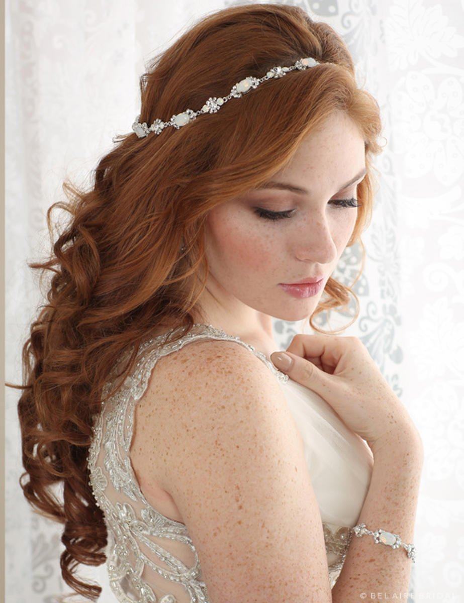 BELAIRE BRIDAL - HALO HEADPIECE