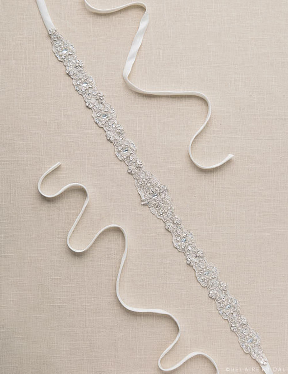 BELAIRE BRIDAL - BEADED BELT