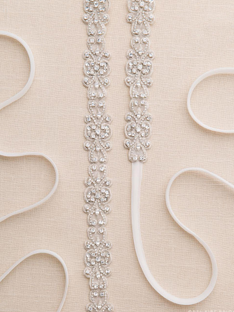 BELAIRE BRIDAL - EMBROIDERED SCROLL