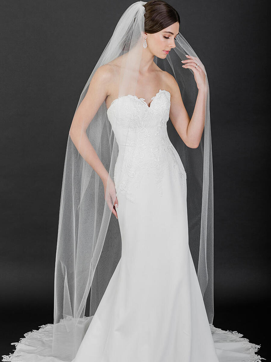 BELAIRE BRIDAL - Shimmer floor length