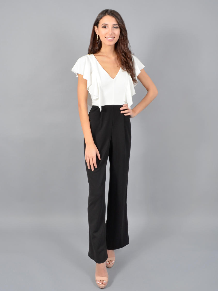 BEBE - Short Sleeve Jumpsuit