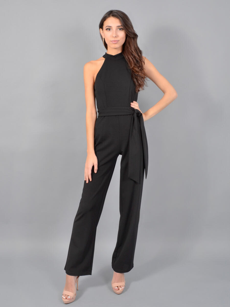 BEBE - Halter Neck Jumpsuit