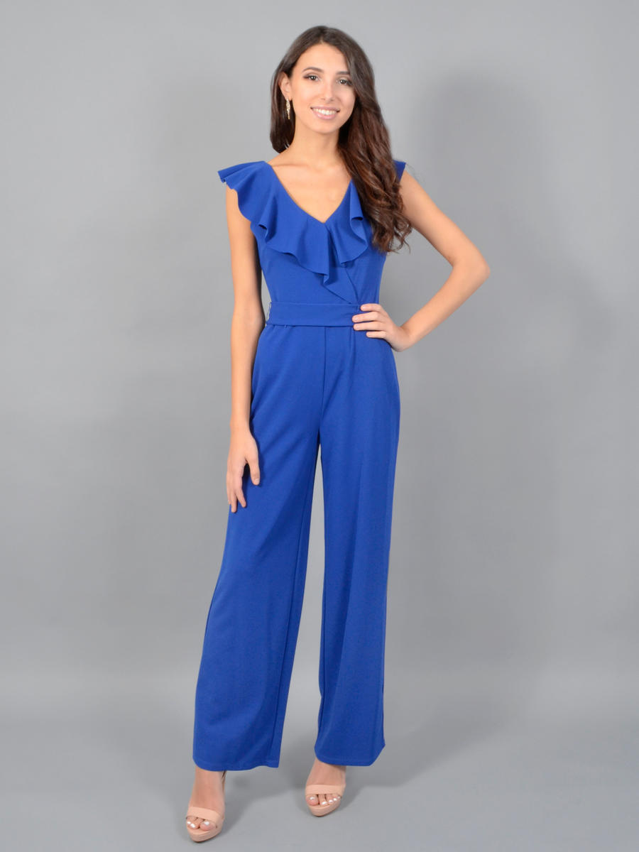 BEBE - Jumpsuit-Draped Bodice
