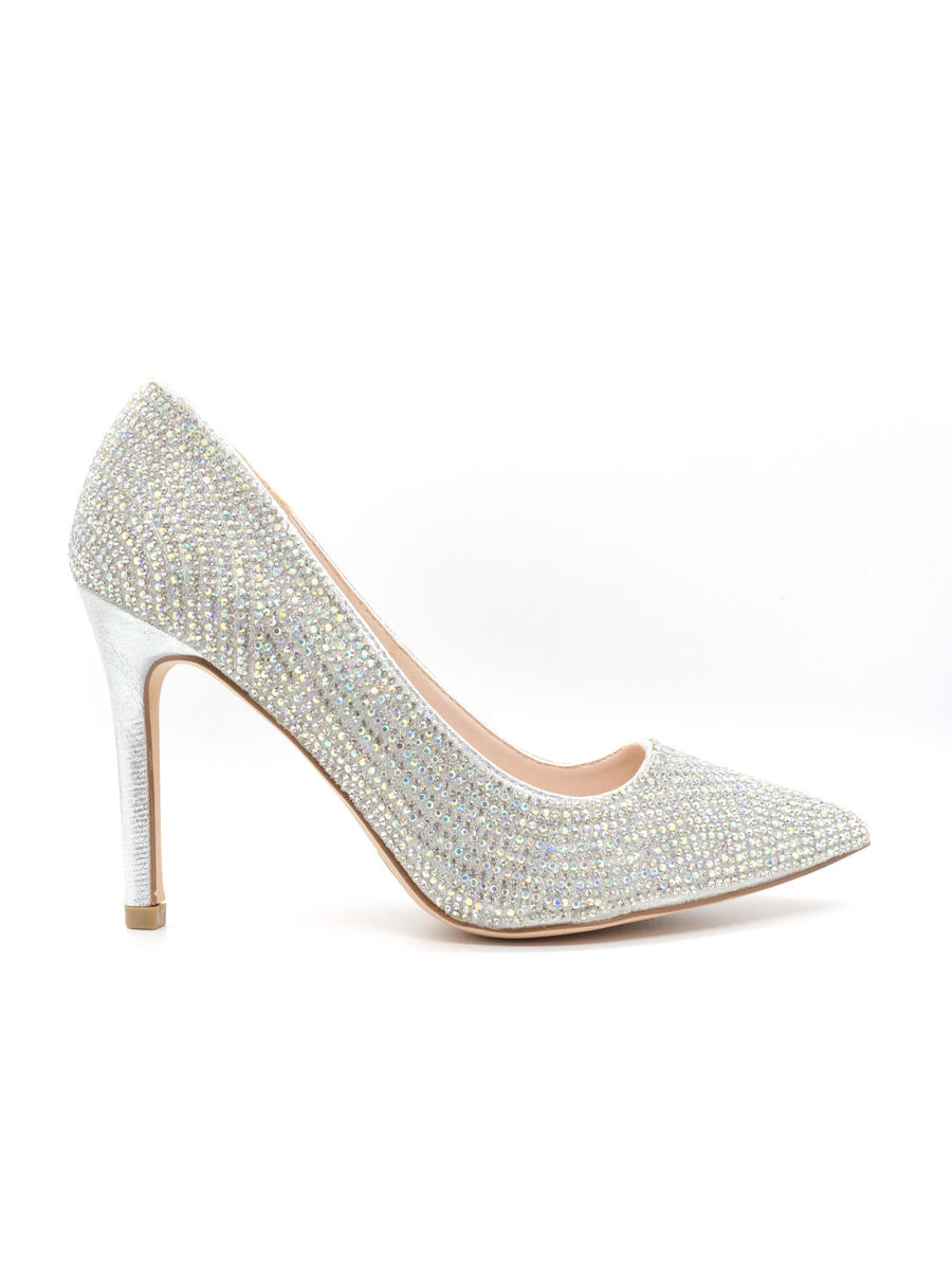 BLOSSOM FOOTWEAR, INC - High Heel Rhinestone Pointy Pump