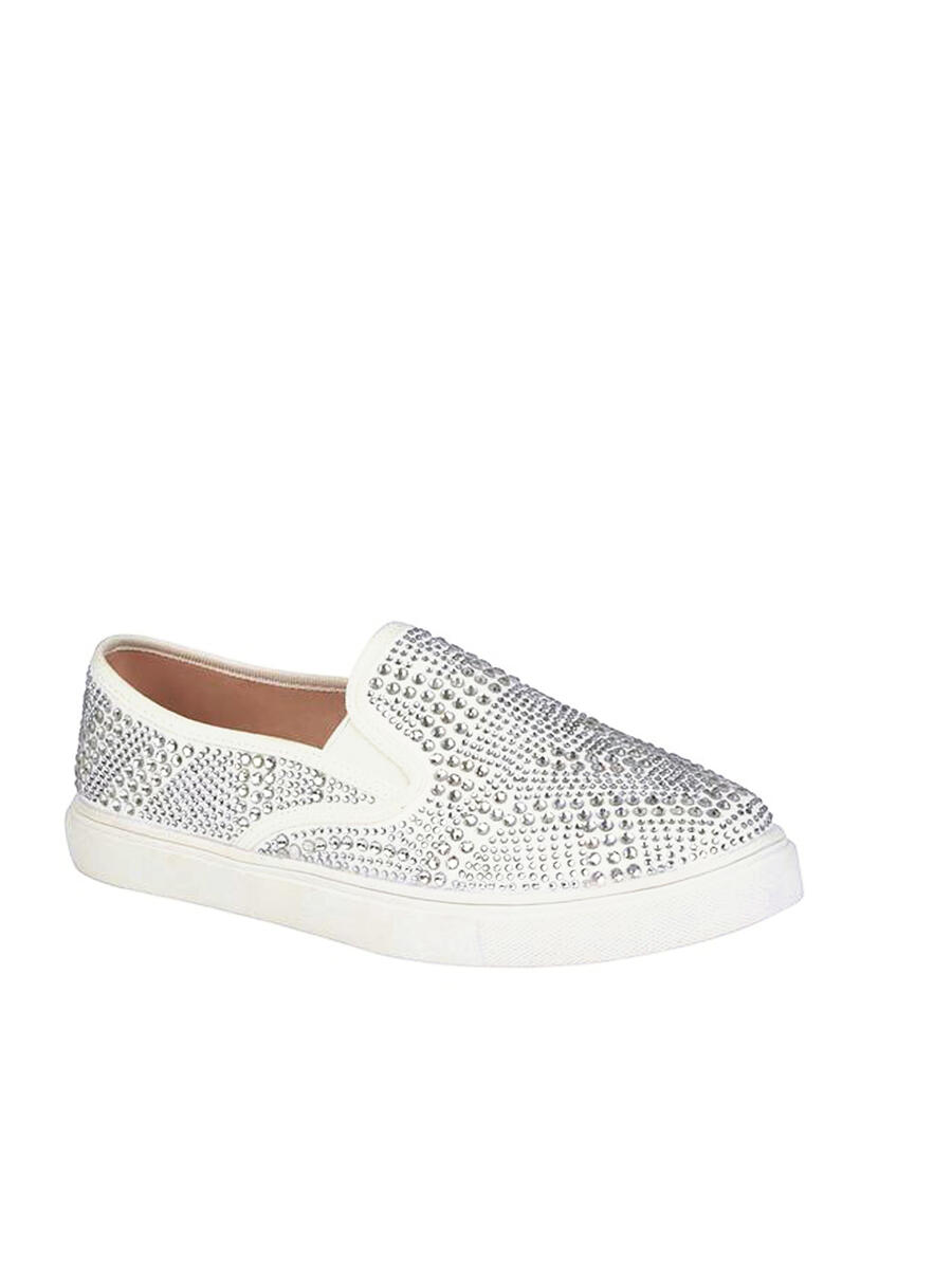 BLOSSOM FOOTWEAR, INC - Rhinestone Slip On Sneakers