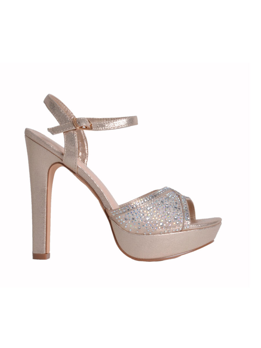 BLOSSOM FOOTWEAR, INC - Metallic Platform with Mesh
