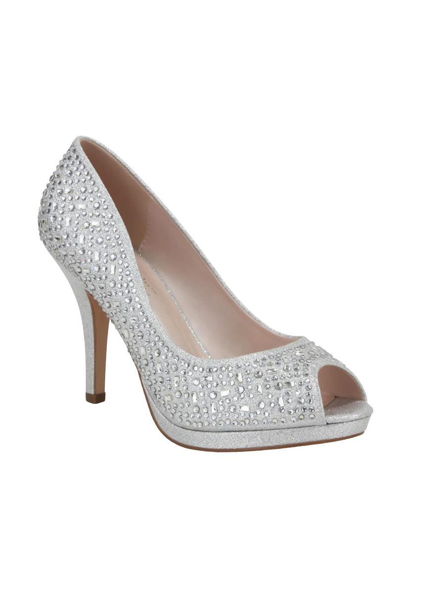 BLOSSOM FOOTWEAR, INC - High Heel Peep Toe Rhinestone Pump Shoe