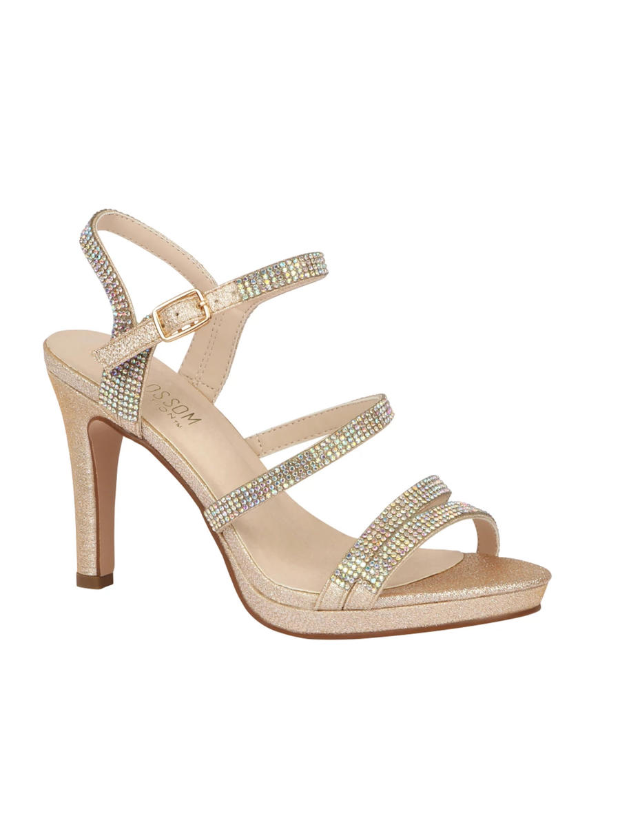 BLOSSOM FOOTWEAR, INC - High Heel With Rhinestone Straps