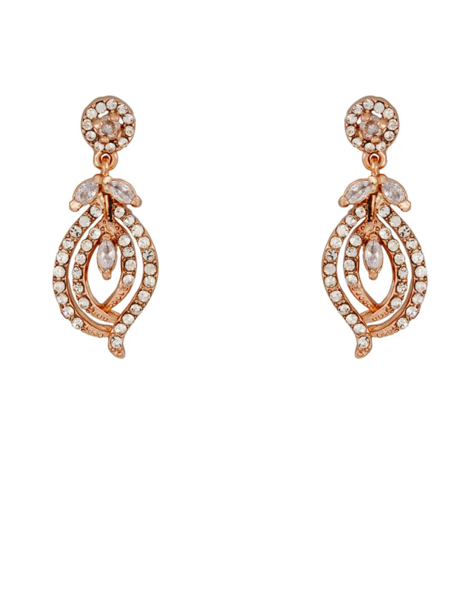THE BRIDAL VEIL CO - Rhinestone Earring Drop