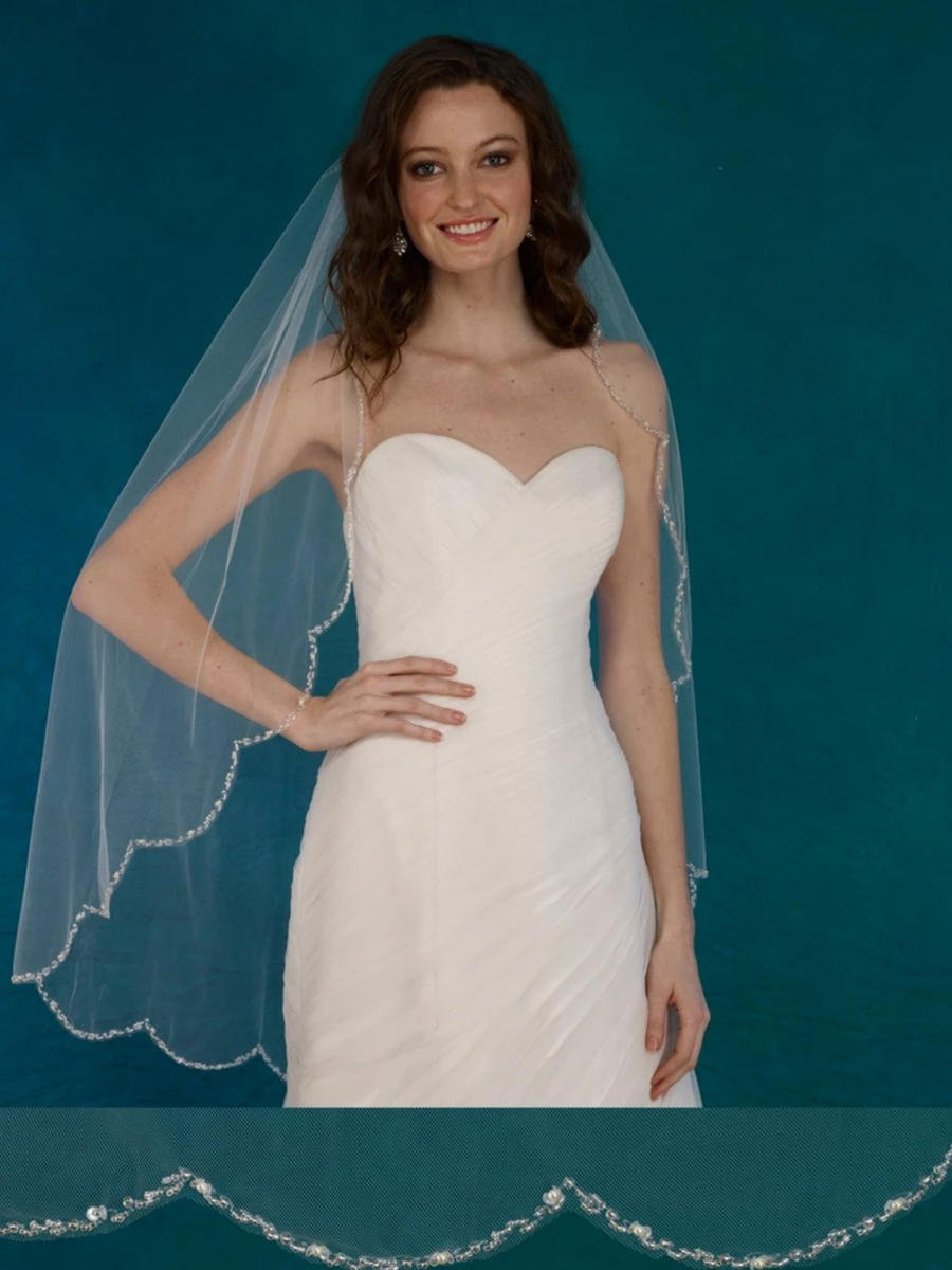 THE BRIDAL VEIL CO - 2x2 Scallop
