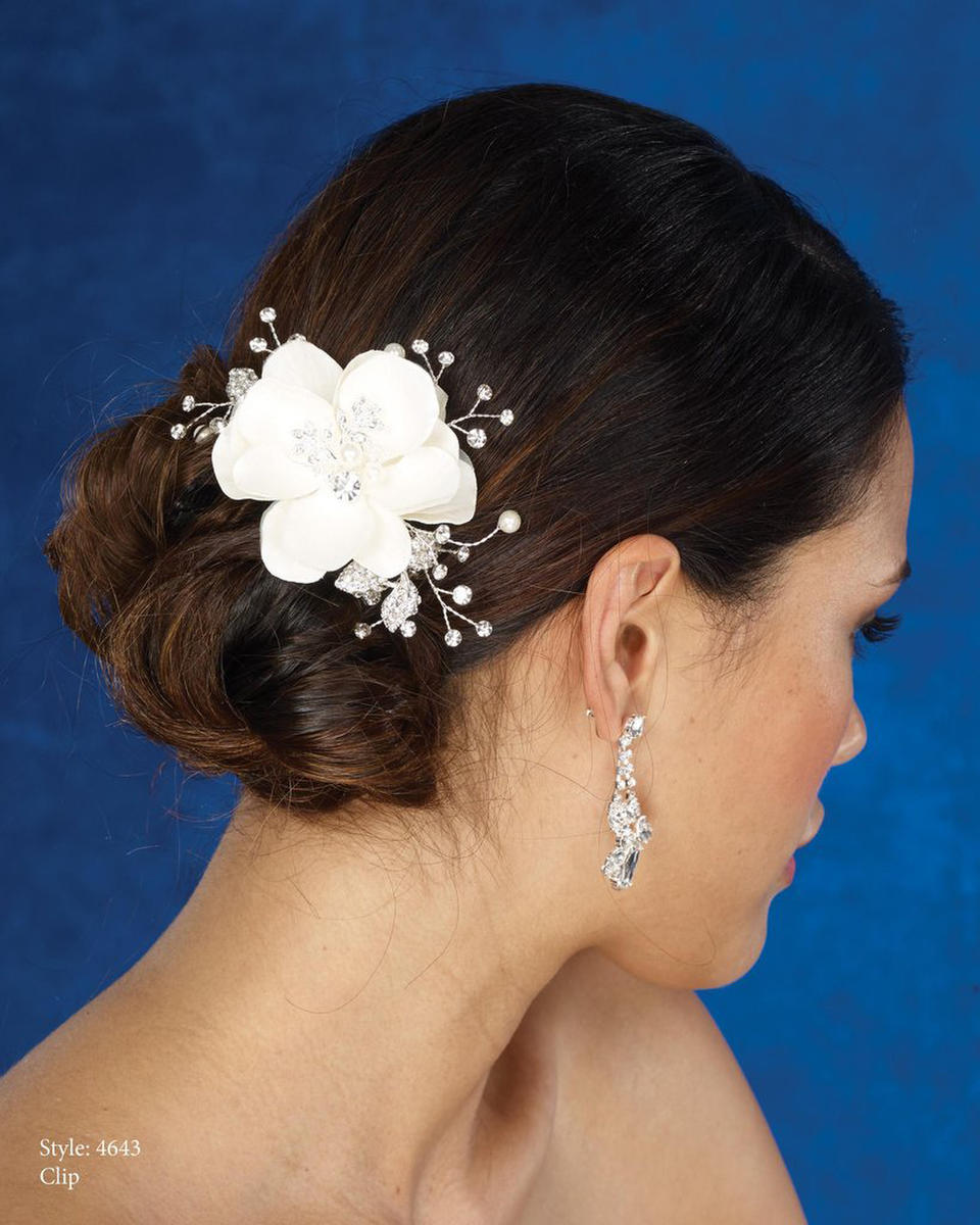 THE BRIDAL VEIL CO - FLOWERCLIP/PRLS
