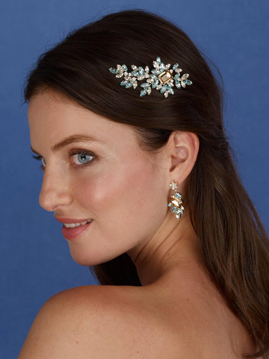 THE BRIDAL VEIL CO - Rhinestone Clip Hair
