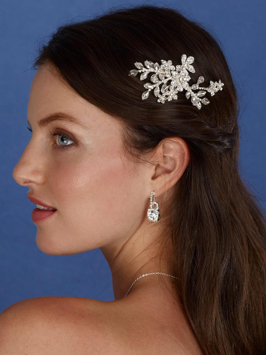 THE BRIDAL VEIL CO - Rhinestone Hair Clip