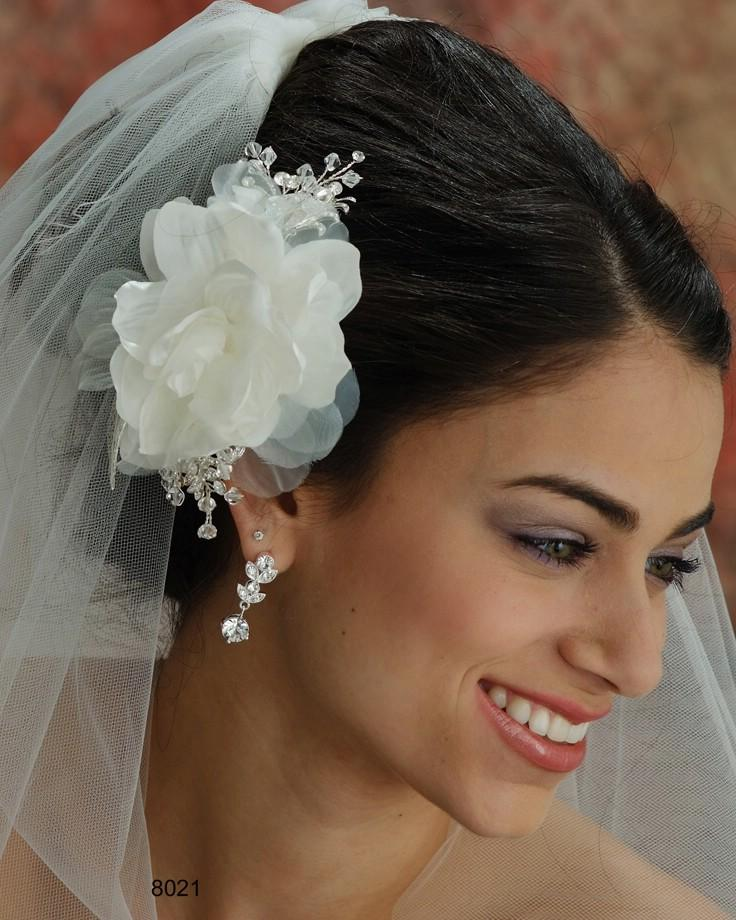 THE BRIDAL VEIL CO - FLOWERHEADPIECE