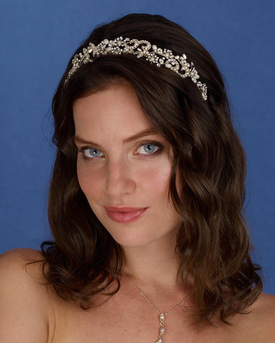 THE BRIDAL VEIL CO - Rhinestone Wire Head Band