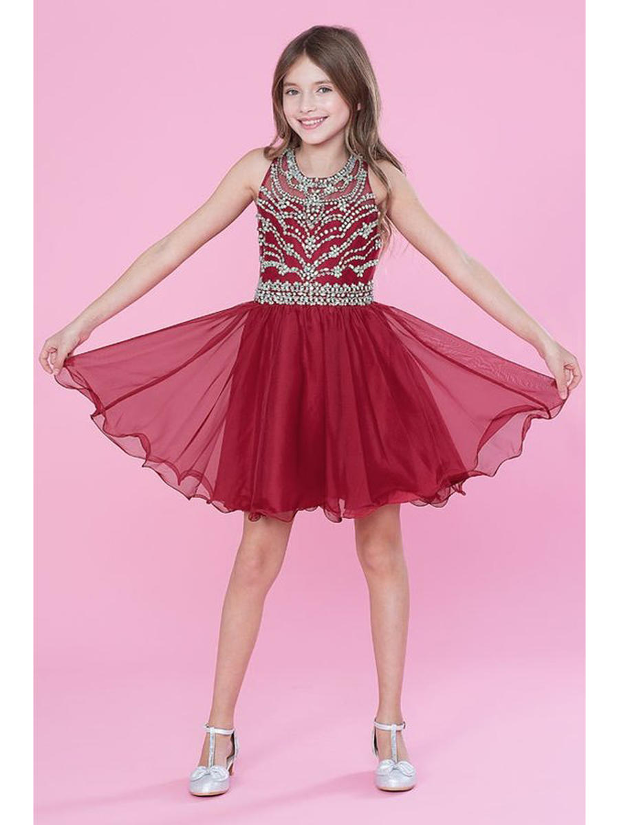 CALLA COLLECTION USA INC. - Tween Chiffon Short Dress