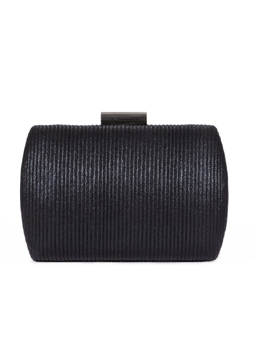 (R&S ACCESORIES) RSA BRANDS LLS - Pleated Hard Frame Dressy Clutch