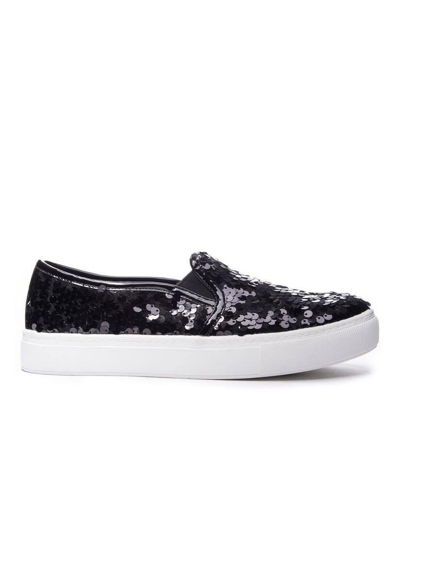 CHINESE LAUNDRY - Sequin Embellished Platform Sneaker