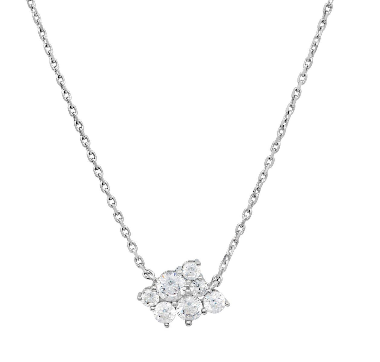 Sterling Silver Platinum Necklace