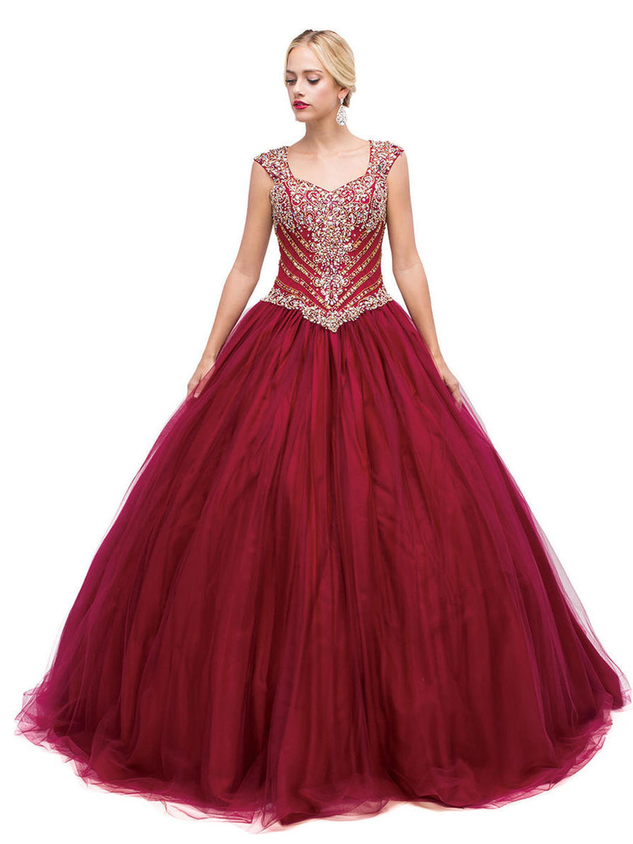 Dancing Queen - Beaded Tulle Ball Gown